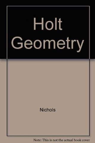 Holt Geometry Teacher's Edition