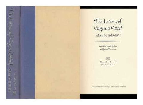 The Letters of Virginia Woolf, Vol. 4: 1929-1931