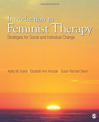 Introduction to Feminist Therapy: Strategies for Social and Individual Change