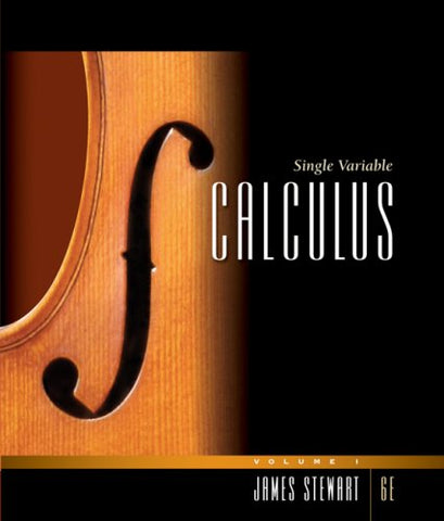 Single Variable Calculus, Volume 1