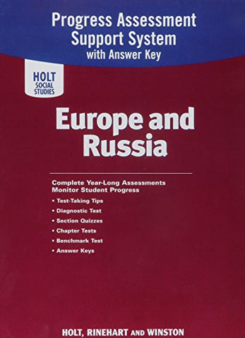 World Geography: Program Assessment Europe and Russia