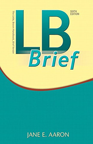 Lb Brief With Tabs (6Th Edition)