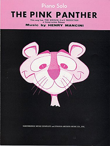 The Pink Panther: Piano/Vocal/Chords (Sheet)