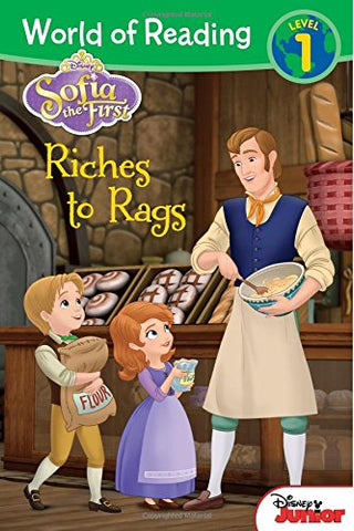 World of Reading: Sofia the First Riches to Rags: Level 1