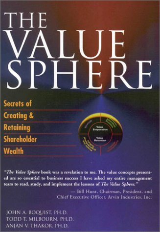 The Value Sphere: Secrets of Creating and Retaining Shareholder Wealth