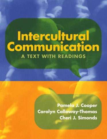 Intercultural Communication: A Text With Readings