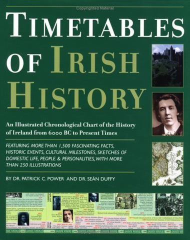 Timetables of Irish History