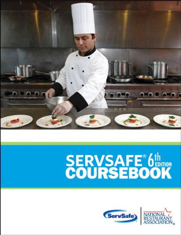 Servsafe Coursebook With Answer Sheet (6Th Edition) (Myservsafelab Series)
