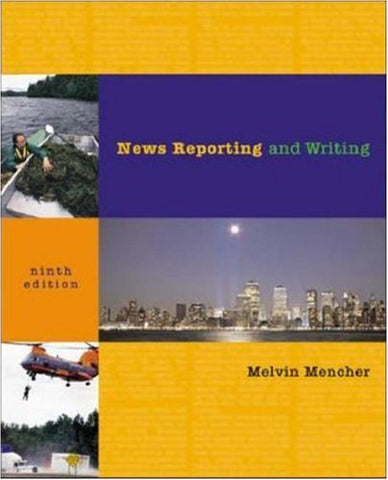 News Reporting and Writing with Free Brush-Up and NRW Plus Student CD-ROMs