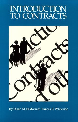 Introduction To Contracts (4Th Edition)