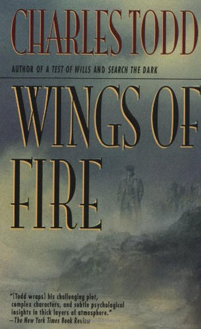Wings of Fire: An Inspector Ian Rutledge Mystery (Ian Rutledge Mysteries)