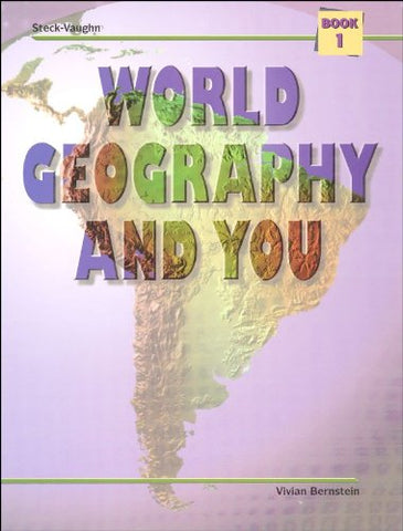 World Geography and You: Student Edition (Softcover) Book One