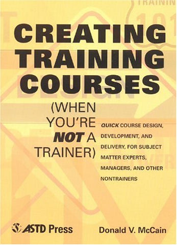 Creating Training Courses