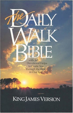 The Daily Walk Bible: KJV