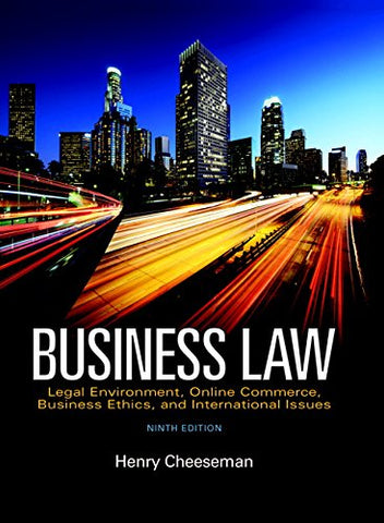 Business Law, Student Value Edition, (9Th Edition)