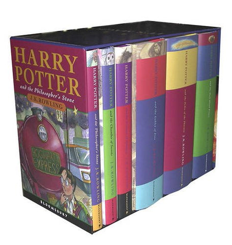 Harry Potter UK/Bloomsbury Publishing Vol 1-6 Children's Edition Boxed Set (Harry Potter, 1-6)