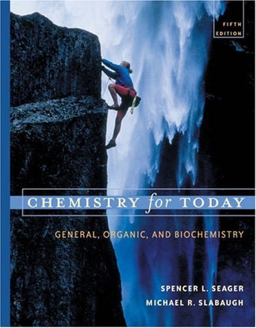 Chemistry for Today: General, Organic, and Biochemistry (with GOB ChemistryNow and InfoTrac)