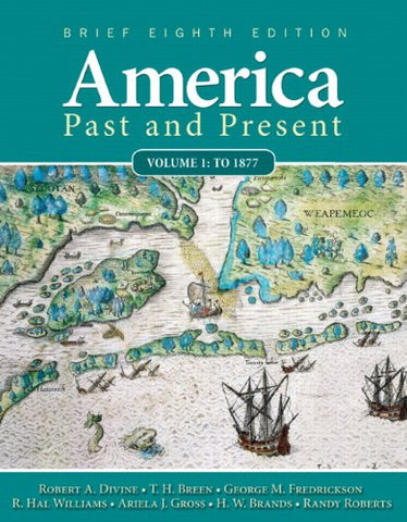 America Past And Present, Brief Edition, Volume 1 (8Th Edition)