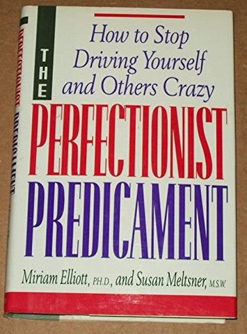 The Perfectionist Predicament: How to Stop Driving Yourself and Others Crazy