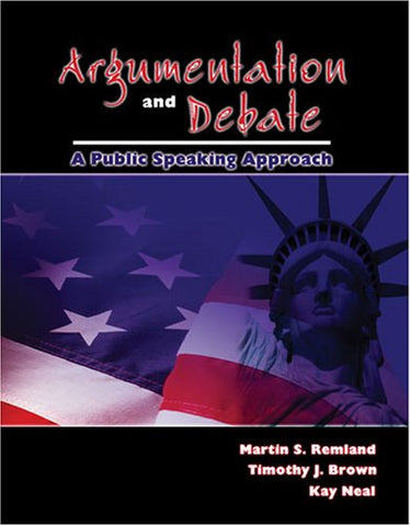 Argumentation and Debate: A Public Speaking Approach