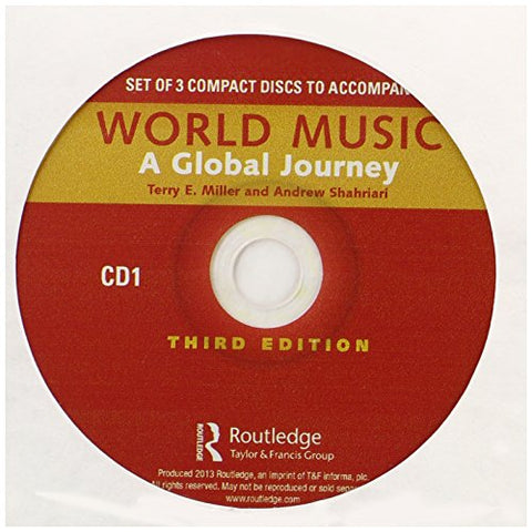 World Music: A Global Journey - Audio CD Only