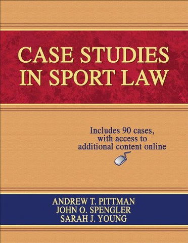 Case Studies in Sport Law With Web Resource
