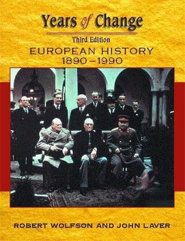 Years Of Change: Europe, 1890-1990