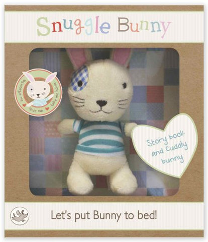 Snuggle Bunny Book and Plush