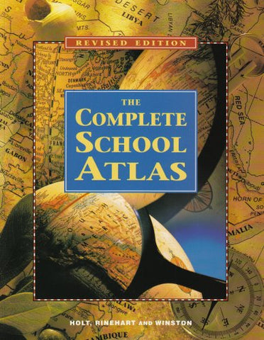 Holt United States History: The Complete School Atlas Grades 6-8 Beginnings to 1914