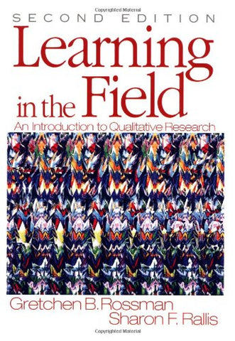 Learning in the Field: An Introduction to Qualitative  Research