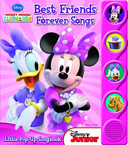 Minnie Mouse Best Friends Forever Songs Little Pop-Up Songbook (9781450832335)-PI Kids
