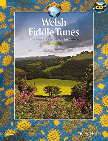 WELSH FIDDLE TUNES BOOK/CD (DEMO CD) (Schott World Music)