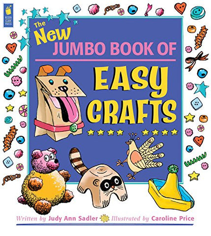 The New Jumbo Book of Easy Crafts (Jumbo Books)