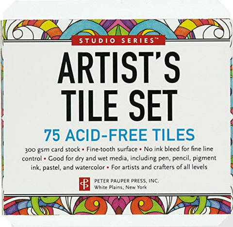 Studio Series Artist's Tiles: White