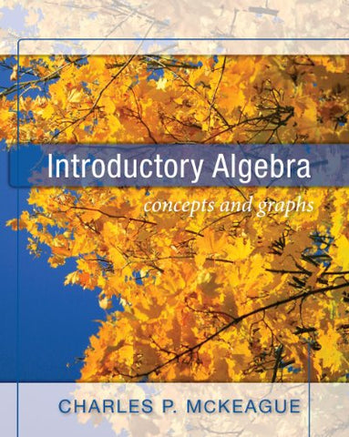 Introductory Algebra Concepts And Graphs