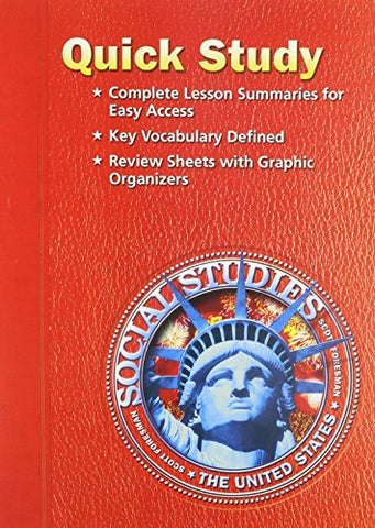 Social Studies 2005 Quick Study Grade 5 The United States