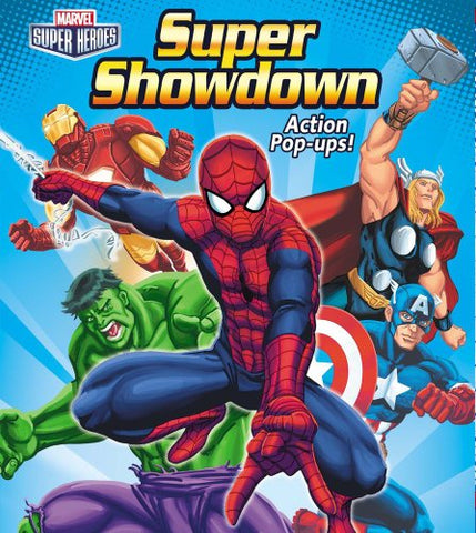 Marvel Super Heroes Super Showdown Action Pop-Ups! (Pop-Up Book)