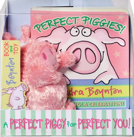 Perfect Piggies! Book and Plush Set (Boynton on Board)