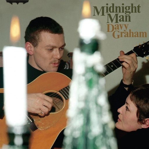 Davy Graham – Midnight Man (Import LP)