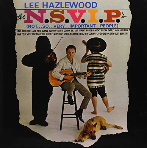Lee Hazlewood - The N.S.V.I.Ps (Not So Very Important People) (LP)