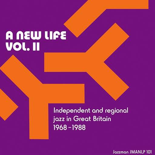 Various Artists - A New Life, Vol. II: Independent and Regional Jazz in Great Britain 1968-1988 (2LP Import)