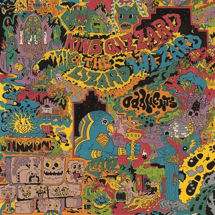 King Gizzard & The Lizard Wizard - Oddments (Grimace Purple Coloured Vinyl LP)