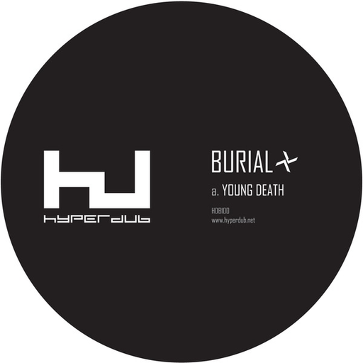 Burial - Young Death b/w Nightmarket (12)