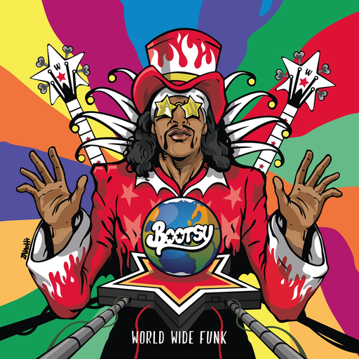 Bootsy Collins - World Wide Funk (LP)