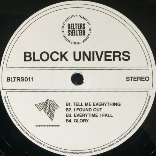 "Block Univers - Many Years Apart (12"")"