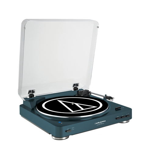 Audio-Technica - AT-LP60 Fully Automatic Wireless Bluetooth Turntable (Navy Blue)