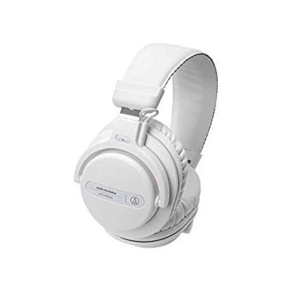 Audio-Technica - ATH-PRO5XWH Professional Over-Ear DJ Monitor Headphones (White)