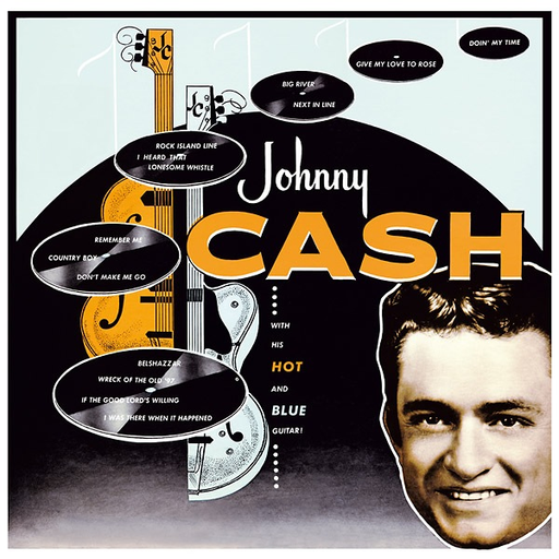 Johnny Cash - With His Hot & Blue Guitar (import LP)