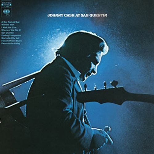 Johnny Cash - At San Quentin (LP)