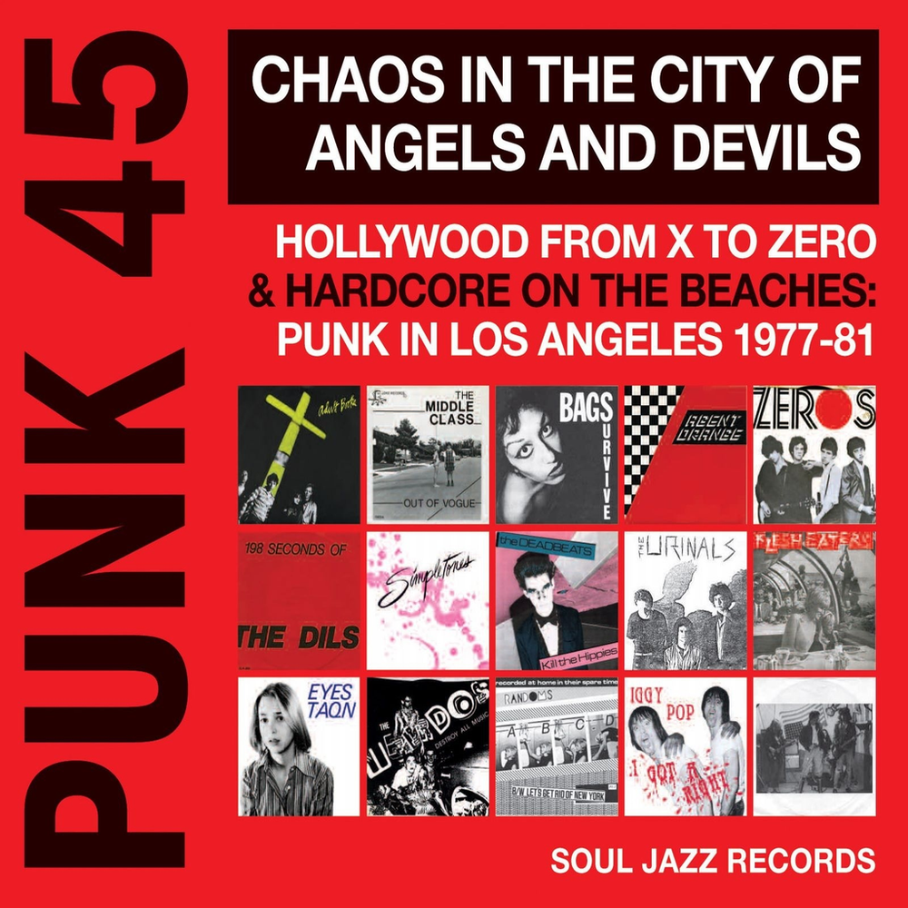 Various Artists - Punk 45: Chaos In The City of Angels and Devils (2LP)